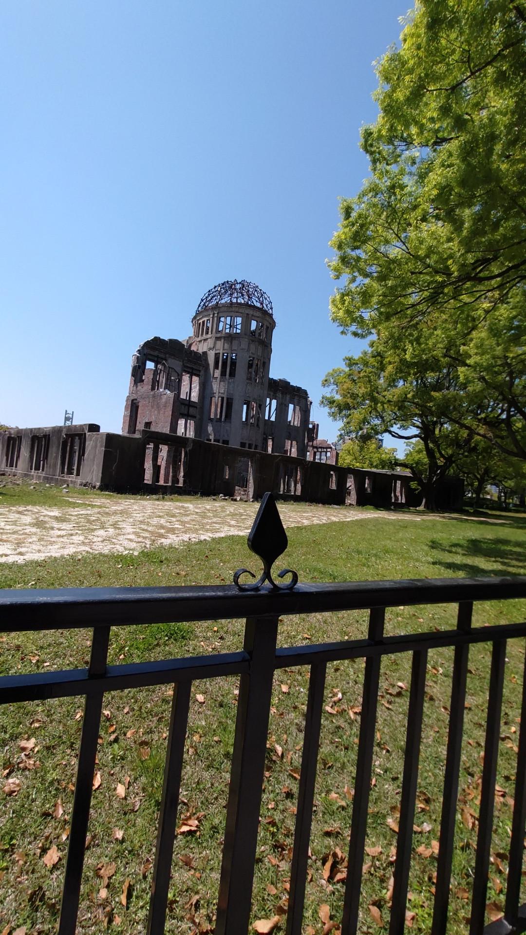 原爆ドーム見てきたよ!